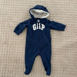 GAP Baby Footed Coverall, 3-6 MOS